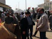 تحرير 155 محضر ومخالفة فى حملة لإزالة الإشغالات من الشوارع الأقصر