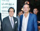 روعة العرض وجمال الصورة في معرض فاروق حسنى بتوقيع إيهاب اللبان