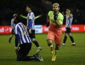 أجويرو يقود السيتي لربع نهائي كاس الاتحاد الانجليزي وتأهل ليستر