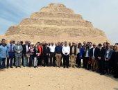 الإندبندنت تبرز افتتاح أقدم هرم فى مصر بعد ترميمه بـ6.6 مليون دولار
