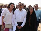 رئيس الوزراء يعرب عن سعادته لتطوير هرم زوسر أقدم بناء حجرى فى التاريخ