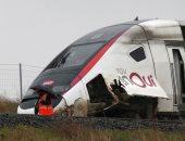 إصابة 22 شخصا جراء خروج قطار عن مساره بفرنسا