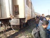 السكة الحديد تعلن عودة قطارات الصعيد بعد رفع القطار الخارج عن القضبان