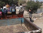 مدينة بلبيس عن نقل طلاب فى تروسيكل: انتظر موفقة المرور على ترخيص 50 ميكروباص