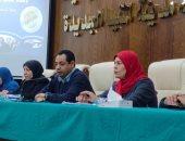 جهاز المنيا الجديدة يعقد ندوة بعنوان لدعم مشاركة المرأة فى سوق العمل