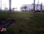 شاهد كيف تحول محيط بحيرة عين الحياة بالقاهرة بعد العشوائيات إلى حدائق