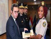 أكاديمية الشرطة تحتفل بتخريج الكوادر الأمنية الأفريقية.. صور