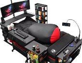 """سرير """"خاص"""" بمدمنى الألعاب الإلكترونية يثير الجدل"""