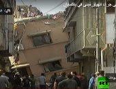 واحد يوقعه!.. قتلى وجرحى جراء انهيار مبنى فى باكستان