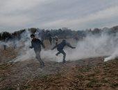 اشتباكات بين المهاجرين وقوات الأمن على الحدود اليونانية التركية