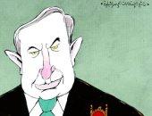 كاريكاتير صحيفة إماراتية.. بنيامين نتنياهو يسيطر على نتائج الانتخابات الإسرائيلية
