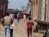 أمن الشرقية: شبهة جنائية بمقتل أم وطفلتيها حرقا بمنزلهما فى بلبيس