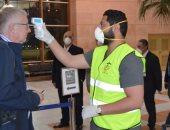 صور.. رئيس القابضة للمطارات يتفقد إجراءات مطار شرم الشيخ للحد من انتشار كورونا