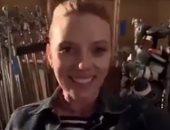 """سكارليت جوهانسون تكشف كواليس """"Black Widow""""وتعلن عن دعوة لحضور الفيلم برفقتها"""
