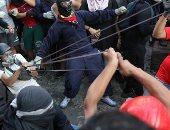 استمرار الاشتباكات بين المتظاهرين وقوات الأمن فى تشيلى