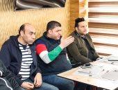 المصري يحفز اللاعبين قبل مواجهة نهضة بركان المغربى غدا بالكونفيدرالية