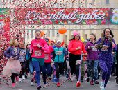 """سباق نسائى فى بيلاروسيا احتفالا بـ""""يوم المرأة العالمى"""""""