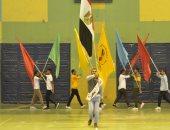 """إنطلاق """"مهرجان شبابنا قادر"""" بجامعة المنيا بمشاركة طلاب فسلطين وسوريا والعراق"""