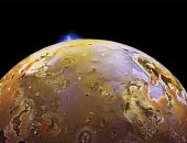 """فى مثل هذا اليوم بالفضاء.. ناسا ترصد البراكين على """"آيو"""" قمر المشترى"""