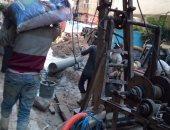 صور .. إصلاح هبوط أرضى والتصدى لـ4 حالات بناء مخالف شرق الإسكندرية