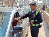 ضبط 470 توك توك وتحرير مخالفات مرورية لقائدى السيارات فى حملة مكبرة بالغربية