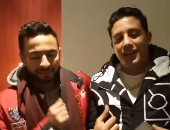 حمادة هلال ردا على فيديو حمو بيكا: مفيش شغل واتقابلنا فى فرح واتصورنا