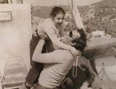 رانيا محمود ياسين تحيى ذكرى أربعين والدها بصورة نادرة من الطفولة