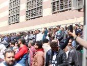 طوابير المواطنين أمام معامل وزارة الصحة لاستخراج شهادات PCR كورونا