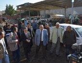 صور.. محافظ الغربية ونائبه فى جولة صباحية بمركز السنطة