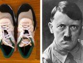 هتلر يعود من جديد.. تصميم حذاء رياضي لشركة شهيرة يتشابه مع شارب الزعيم النازي