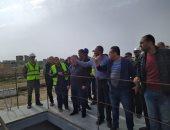 نائب وزير الإسكان يتفقد مشروعات صرف صحى الإسكندرية