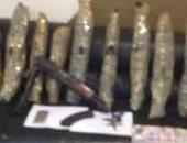 سقوط 7 متهمين بحوزتهم كيلو بانجو و400 جرام هيروين و5 أسلحة نارية بأسوان