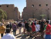 السياحة: الحركة السياحية الوافدة لمصر تسير بشكل منتظم وحسب المعدلات الطبيعية