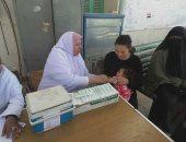 تطعيم 81 ألف طفل خلال اليوم الأول للحملة القومية ضد الحصبة بأسوان