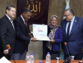 تكريم أعضاء القافلة الشاملة لجامعتى الإسكندرية ومطروح لمنطقة برانى والسلوم(صور)