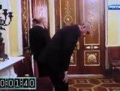 بوتين يهين أردوغان ومعاونيه ويحبسهم فى قاعة قاهرة العثمانيين..فيديو وصور