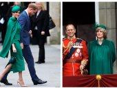 ميجان ماركل تكرم الأميرة ديانا قبل توديعها حياة الملكية بإطلالة من دولابها