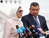 وزيرة الصحة: لا توجد أى حالات إصابة بفيروس كورونا بين الأطقم الطبية