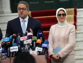 وزيرة الصحة: 59 حالة مصابة بفيروس كورونا و خطة مصر الاحترازية قوية