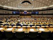 البرلمان الأوروبى خالى فى إحدى جلساته بسبب انتشار كورونا