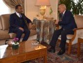 أبو الغيط يستقبل نائب رئيس الحزب الاتحادى الديمقراطى السودانى