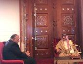 وزير الخارجية يصل المنامة حاملا رسالة من الرئيس السيسى لملك البحرين