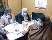 صور.. توقيع الكشف الطبى على 1400 سيدة ضمن مبادرة صحة المرأة بمركز أورام طنطا