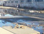 اضبط مخالفة.. مياه الصرف الصناعى تغرق منطقة الاستثمار ببورسعيد.. صور