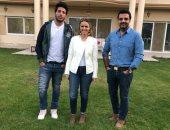 عمرو محمود ياسين ويسرى نصر الله ضيفا ON Set.. غدا