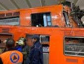 قتيل وعشرات الجرحى فى تصادم قطارين بالمكسيك