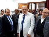 رئيس جامعة بني سويف يتابع استعدادات المستشفى استعدادا لموجة الطقس