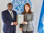 غادة والى تستقبل ممثل كينيا الدائم لدى مكتب الأمم المتحدة بفيينا