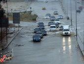 أمطار غزيرة على الإسكندرية ومطروح تمتد للبحيرة وكفر الشيخ غدا والصغرى بالقاهرة 8 درجات