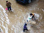 """رئيس """"المركزى للتعمير"""" يوجه بإعادة بناء مخرات السيول والسدود بسيناء"""